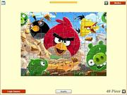 Angry Birds - Jigsaw game