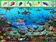 Juega al juego gratis Underwater Fish Hidden Objects
