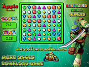 Bejeweled Ninja Turtles game
