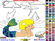 Mermaid Coloring لعبة