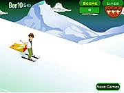 Ben 10 Ski game