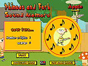 Phineas and Ferb Sound Memory