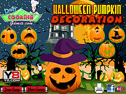 Halloween Pumpkin Decoration Game game