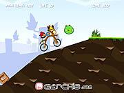 Juega al juego gratis Angry Birds Bike Revenge