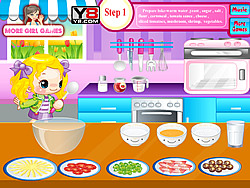 Cooking Delicious Pizza game
