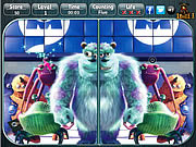 Monsters Inc - Spot the Difference game