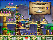 Juega al juego gratis Snowy: Treasure Hunter II