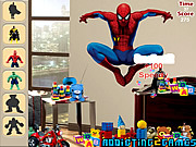 Superheroes Hidden Object game