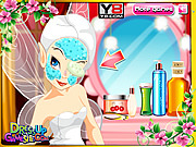 Tinker Bell Facial Makeover game