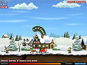 Effing Worms Xmas لعبة