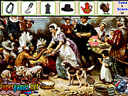 Thanksgiving Hidden Object game