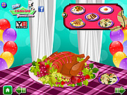 Thanksgiving Food Decorations game