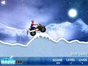 Juega al juego gratis Spiderman Snow Scooter