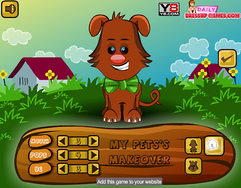 My Pet  Makeover game