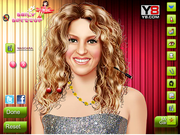Makeover Beautiful Shakira game