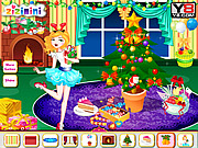 Zizi Christmas Room Decor لعبة