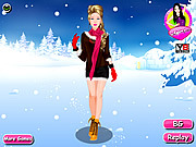 Dressup Winter Girl game