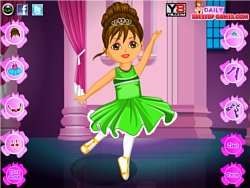 Dora Ballet Dress Up Game game