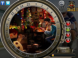 Arthur Christmas - Find the Numbers game