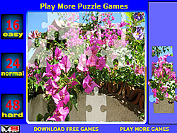 Bugenvilia Jigsaw game