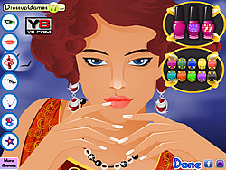 Fantasy Nail Makeover game