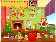 Juega al juego gratis Christmas Hall Decor 2012