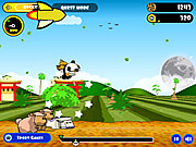 Juega al juego gratis Flying Cookie Quest