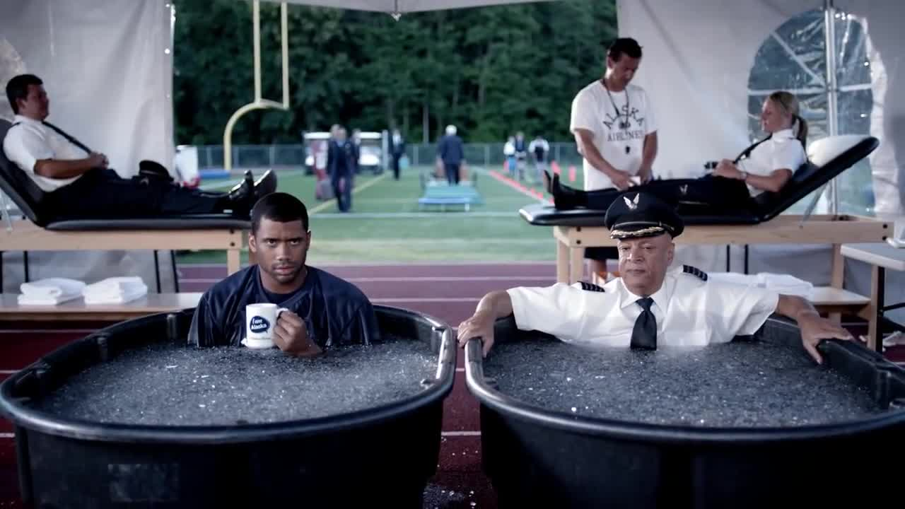 Watch free video Alaska Airlines: Training Camp with Russell Wilson