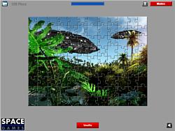 UFO Jigsaw game