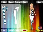 Dress up sport girl game