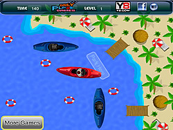 Wild Boat Parking game