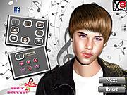 Justin Bieber Makeover-Game game