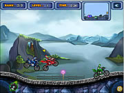 Juega al juego gratis Power Rangers Power Ride