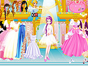 Little Girls Dress Up game