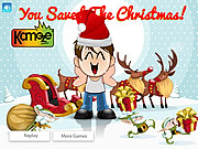 Kids Save The Christmas game