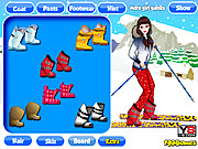 Dress Up Ski Girl game