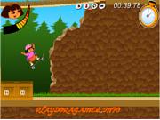 Dora Skateboarding