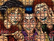 Edd Eddy Ed Puzzle