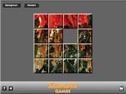 Zombie Game Sliding game