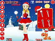 Carolyn Christmas Girl Dress Up game