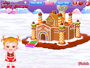玩免费游戏 Baby Hazel Gingerbread House