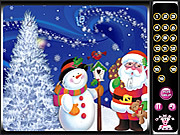 Christmas Hidden Numbers game