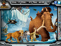 Ice Age 4 - Hidden Objects game