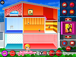 Doll House Decoration Game game
