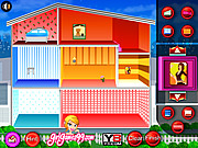 Juega al juego gratis Doll House Decoration Game