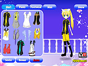Dress Up Anime Girl game