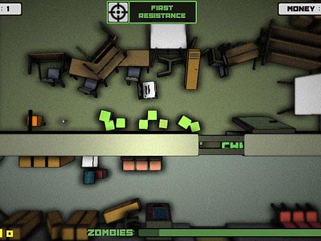 Zombie Defender game