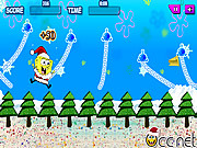 Swinging SpongeBob Xmas game