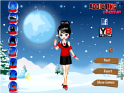 Juega al juego gratis Fashion Winter Dress Up'