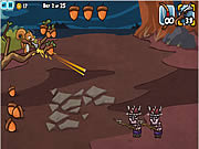 Juega al juego gratis Defend Your Nuts 2
